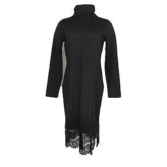 إسحاق مزراحي لايف! فستان سترة السلحفاة الأسود A296764