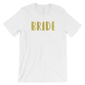 Bride-gull menns hvit T-skjorte søt gjennomtenkt bryllup Bryllupsutstyr gave