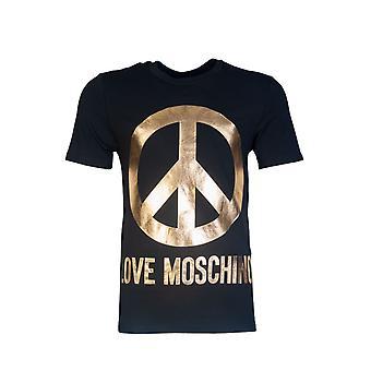 Moschino T Shirt mit Liebe Moschino Print M4731 3c E1811
