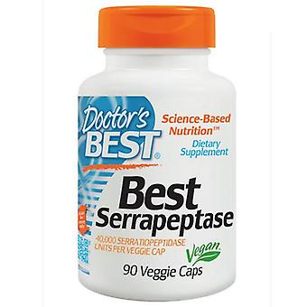 Beste Serrapeptase 40,000 spu (90 Veggie Caps)-Doctor ' s beste