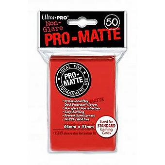 Ultra Pro SLEEVES Pro-Matte D12 Card Game Protectors - Peach