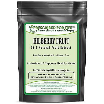 Mustikka hedelmät-12:1 luonnollinen hedelmä jauhe uute (Vaccinium myrtillus-European)