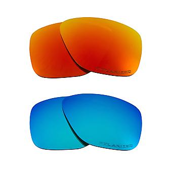 Polarized Replacement Lenses for Oakley Breadbox Sunglasses Anti-Scratch Anti-Glare UV400 by SeekOptics