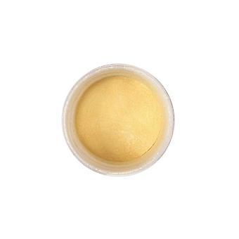 Kleur splash Dust Pearl licht goud 5g