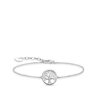 Thomas Sabo Silver Tree Of Love Bracelet A1828-051-14