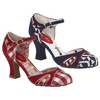 Ruby Shoo Women's Jeraldine Mid Heel Shoe