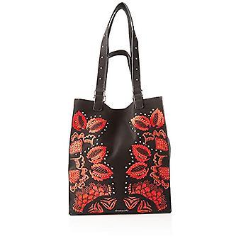 Desigual Bag Gemini Colorado - Svarta kvinnors axelväskor (NEGRO) 36x16x31 cm (B x H T)