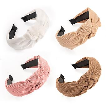 6cm Cord Look Fabric Knot Design Alice Band Fashion Headband