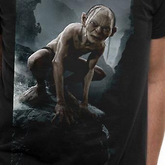 Lord Of The Rings Unisex Adults Gollum Print T-Shirt