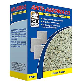 Ica Carica Anti-ammoniaca per Biopower260 (Pesci , Filtri e pompe , Materiale filtrante)