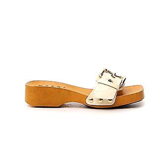 Marni Zcms000304p335500w11 Women's White Leather Sandals