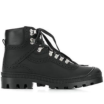 Cut-Out Combat Boots