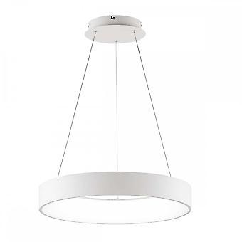 WOFI Cameron Modern Led Ceiling Pendant Light In White Finish 6417.01.06.9550