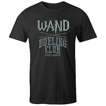 Boys Crew Neck Tee Short Sleeve Men's T Shirt- Wand - Dueling CLub Expelliarm'js
