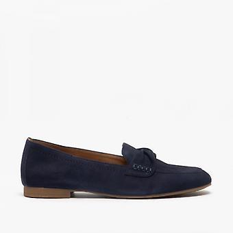 Gabor Villa Dames Lederen Loafers Bluette