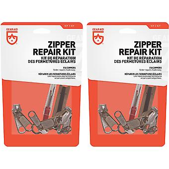 Gear Aid Zipper Repair Kit - 2-Pack