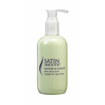 Satin Smooth Soothe & Hydrate After Wax Waxing Skin Body Lotion 500ml
