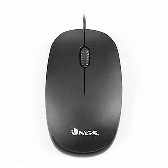Optical mouse ngs flame 1000 dpi black