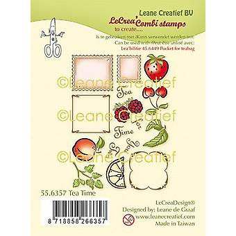 Leane Creatief Tea Time Clear Stamps