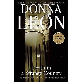 Death in a Strange Country (Commissario Guido Brunetti Mysteries)
