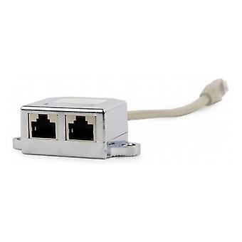 Splitter Ethernet LAN to 2 x RJ45 Adapter GEMBIRD NCA-SP-02 (15 m)