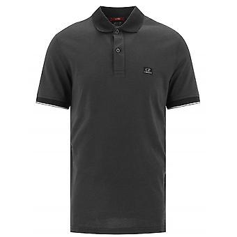 C.P. Company C.P. Company Black Tacting Polo Shirt