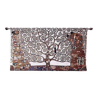 Wall tapestry-klimt tree of life-whole | high quality tapesty - available in two sizes