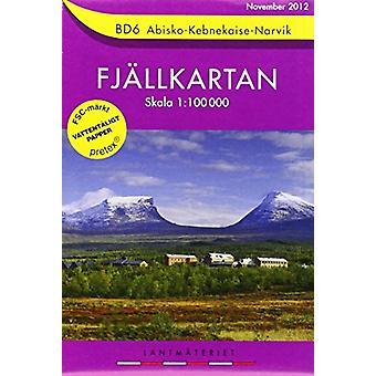 Abisko / Kebnekaise / Narvik - SE.F.BD06 (5th Revised edition) - 97891