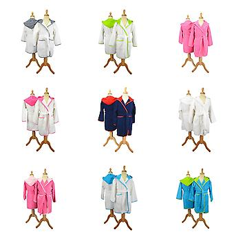 A&R Towels Childrens/Kids Boyzz & Girlzz Hooded Bathrobe