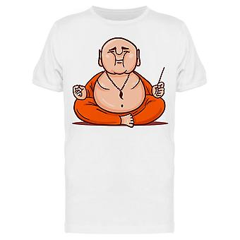 Cartoon Buddha Tee Men's -Image by Shutterstock