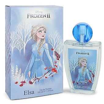 Disney Frozen Ii Elsa Eau De Toilette Spray By Disney 3.4 oz Eau De Toilette Spray