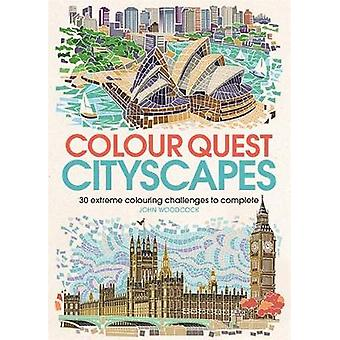 Colour Quest Cityscapes by John Woodcock