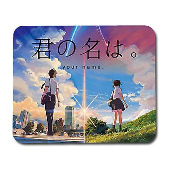 Anime Your Name Mouse Pad