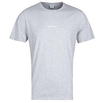NN07 Ethan 3208 No Nationality Print Grey Marl T-Shirt