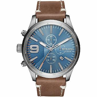 Diesel DZ4443 Rasp Chronograph Blue Dial Men's Watch