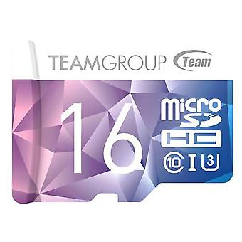 TEAM Colour Card II Micro SDHC UHS-1 U3 90/45 R/W