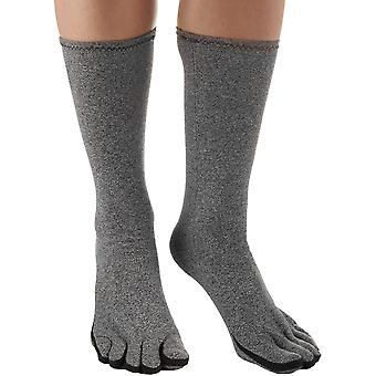 Brownmed IMAK Compression Arthritis Socks - Heather Gray
