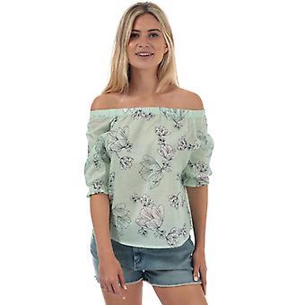 Naiset&s Vero Moda Sally Off Shoulder Top valkoinen