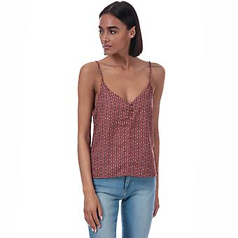Women's Only Diana Tile Print Cami Top in Brown