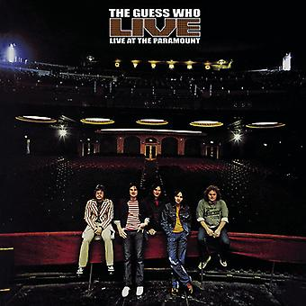 Guess Who - Live at the Paramount [CD] USA import