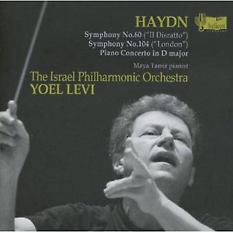 Symphonies Nos.60 & 104/Piano Concerto In D Major [CD] USA import