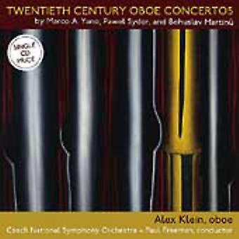 Martinu/Sydor/Aurelio - Twentieth Century Oboe Concertos [CD] USA import