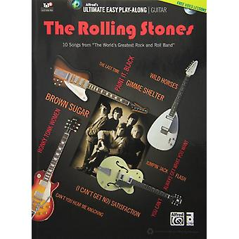 Rolling Stones Ultimate helppoa kitara Play-Along [DVD] USA tuonti