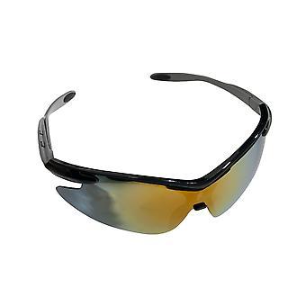 הסגת גבול מבוגרים משקפי שמש ספורט מעטפת