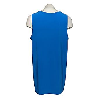 Attitudes van Renee Women's Petite Top Tank Knit Royal Blue A366018