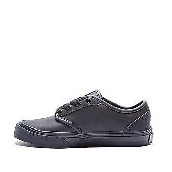 فانز أتوود (الجلود) Vudtl3B الشباب Blk / Blk أحذية الأحذية