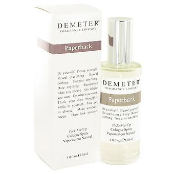 Demeter paperback cologne spray by demeter 427568 120 ml