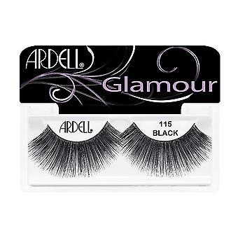Ardell Glamour Las pestañas 115 Negro