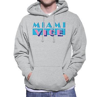 Miami Vice Classic logo heren ' s Hooded Sweatshirt