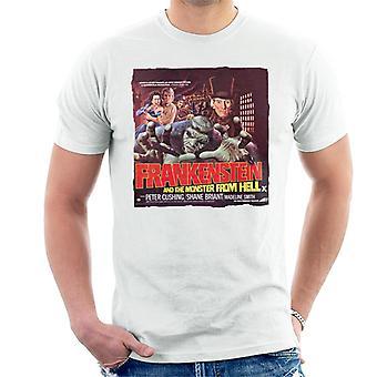 Hammer Horror Films Frankenstein Monster From Hell Red Men&apos